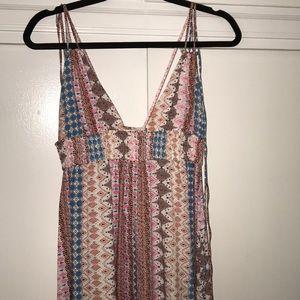Lulus boho maxi dress